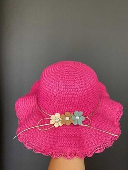 Momsbrand - Çiçek Çoban Şapka