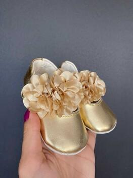 Momsbrand - Çiçekli Ayakkabı