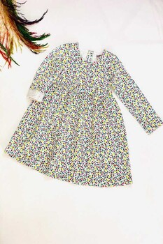 Momsbrand - Çıtır Çiçekli Elbise