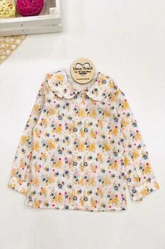 Momsbrand - Çıtır Çiçekli Kız Gömlek