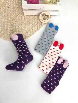 Momsbrand - Çorap Küçük Kalplı