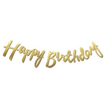 Momsbrand - Happy Birthday Banner