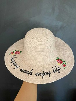 Momsbrand - Happy Şapka