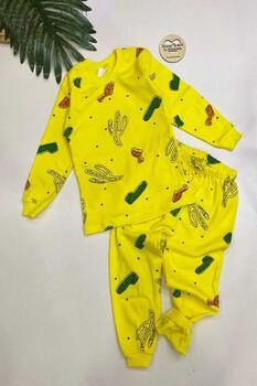Momsbrand - Kaktüslü Pijama Takımı