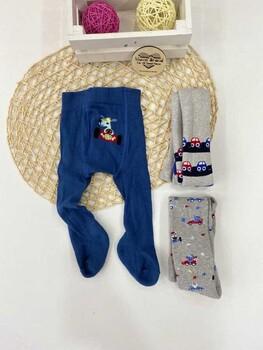 Momsbrand - Kışlık Külotlu Çorap Erkek