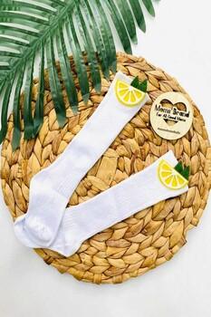 Momsbrand - Limon Çorap