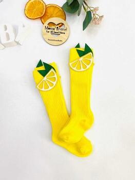Momsbrand - Limonlu Çorap