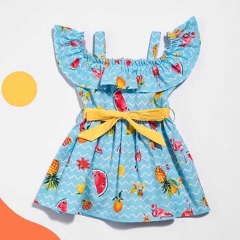 Momsbrand - Meyveli Elbise