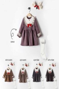 Mini Love Elbise 3'lü Takım