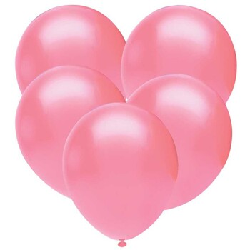 Momsbrand - Pastel Pembe Balon 10lu