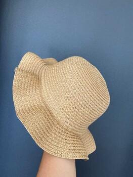 Momsbrand - Plaj Şapka Dalgalı