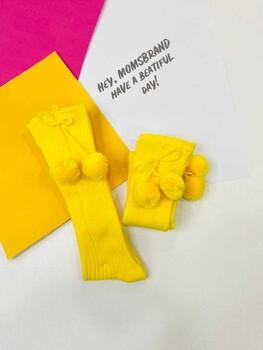 Momsbrand - Ponponlu Çorap