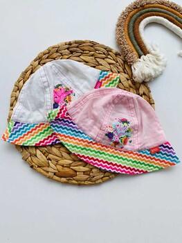 Momsbrand - Rainbow Summer Şapka