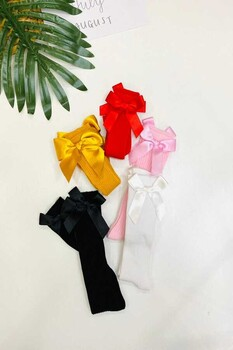 Momsbrand - Renkli İnce Fitilli Çoraplar