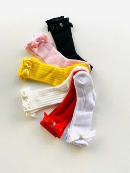 Momsbrand - Taşlı Merserize Çorap