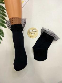 Momsbrand - Tüllü Çorap
