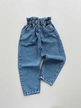 Momsbrand - Yüksek Bel Kot Pantolon